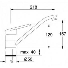 Franke BAT 601 хром