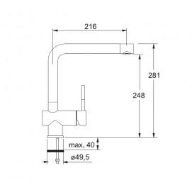 Franke Platte 370-1 (хром)