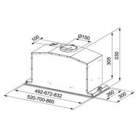 Franke BOX FBI 537 XS/BK