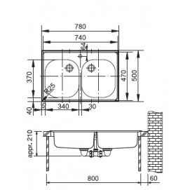 Franke ETX 620-50