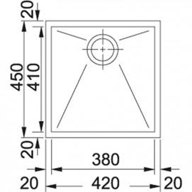 Franke Planar PPX 110-38